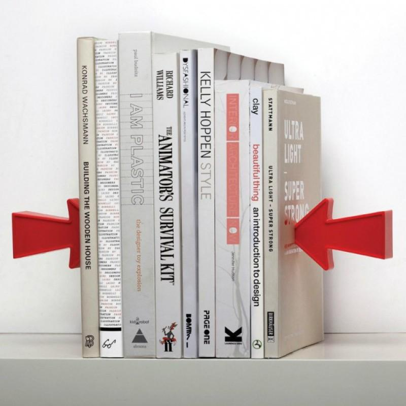 Тримач для книг (букенд) Arrow Magnetic Bookend Peleg Design