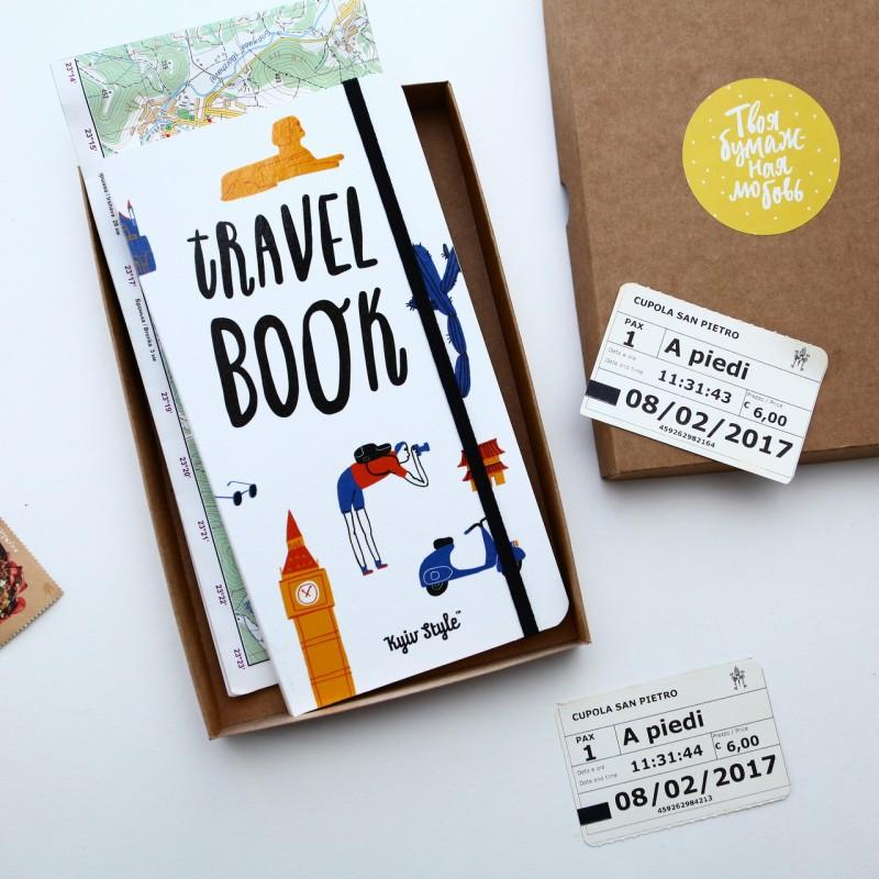 Блокнот TravelBook (білий)