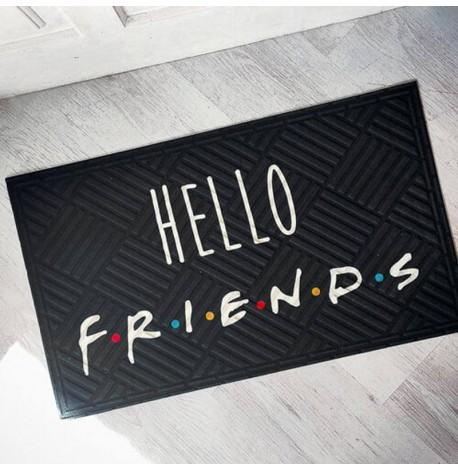Килимок придверний Hello friends