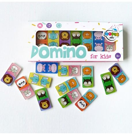 Дитяче Domino Animals color set