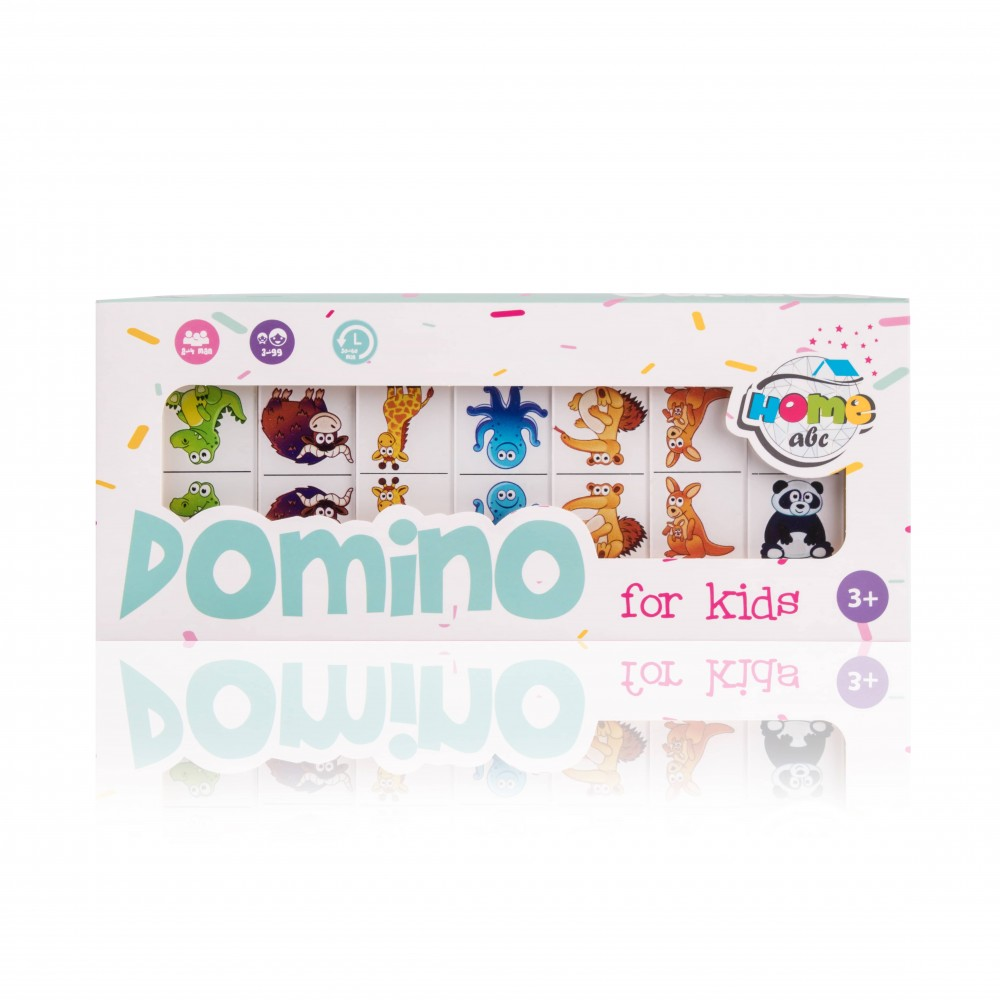 Детское Domino Animals white set
